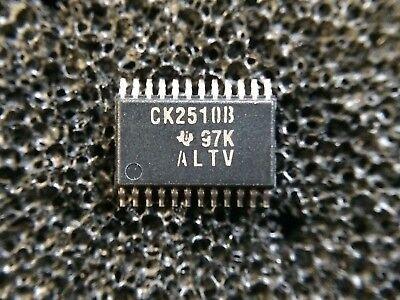 Ti Cdc2510bpwr Pll Clock Driver Single 25mhz To 125mhz 24-pin Tssop. 1 Piece