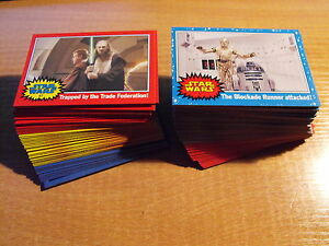 STAR WARS HERITAGE COMPLETE BASIC SET OF 120 CARDS