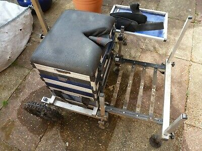 Diawa tournament pro Seat box with wheel kit