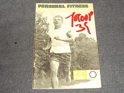 Personal Fitness Merit Badge book 1968 printing
