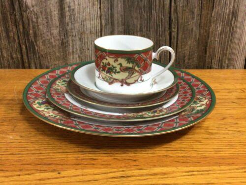 5 piece set Noritake Royal Hunt china