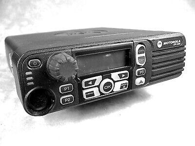 Motorola Xpr4550 Uhf Mototrbo 40w Digital Mobile Radio Wnew Accessories