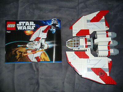LEGO 7931 Star Wars T-6 Jedi Shuttle Retired LEGOS Ship with instructions