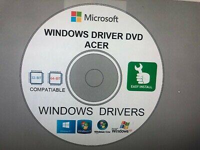 Repair Restore Computer ACER DRIVERS for Windows XP Vista 7 8.10 32/64 bit -