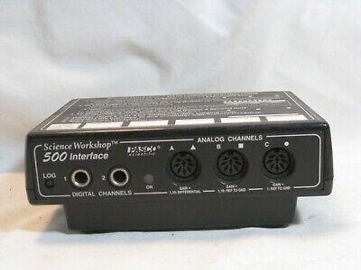 Science Workshop 500 Interface Pasco Scientific Ci-6760 Module Unit Only