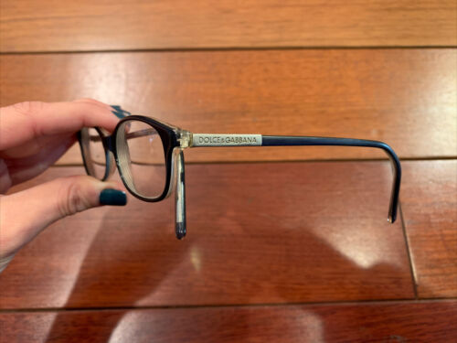 Dolce Gabbana Blue Plastic Perscription Glasses - $25.20