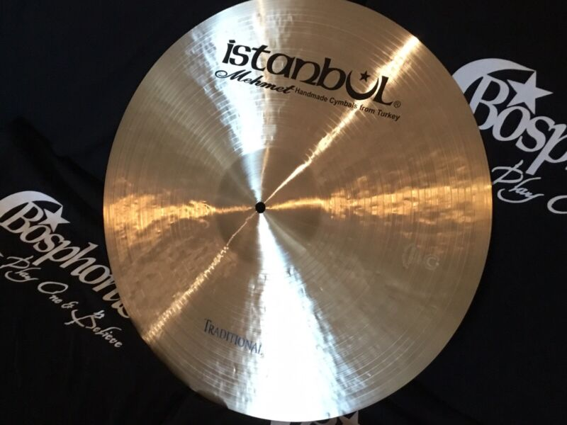 "NEW 20"" Istanbul Mehmet Traditional Medium Ride Cymbal - BARGAIN!"
