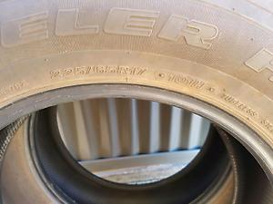 17 inch Bridgestone tyres x2 Gawler East Gawler Area Preview