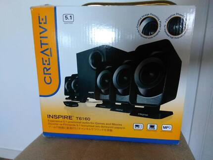 Creative Inspire T6160 5.1 Speaker System Perfect For Gaming