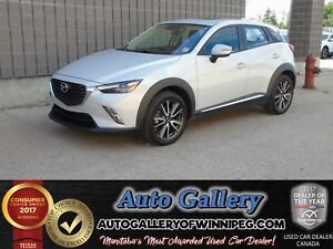 2017 Mazda CX-3 GT AWD *Nav/Roof