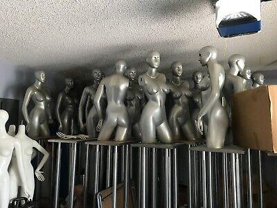 Female 12 Body Mannequin Display Dress Form. Read Description Before Bidding