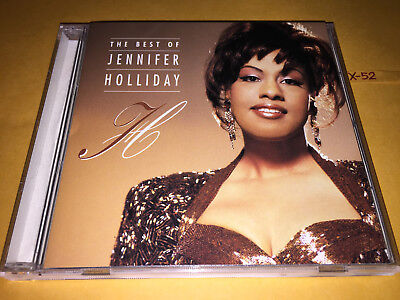 BEST of JENNIFER HOLLIDAY 16 hits CD this game of love SOMEDAY heart on the (The Best Of Jennifer Holliday)
