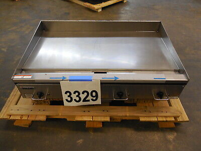 3329 New Sd - Vulcan Rapid Recovery Heavy Duty Electric Griddle Model Rre48e-3