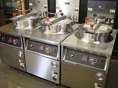 Bki Pressure Fryer Fkm-f Digital Control Filter System 3 For One Money