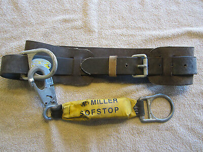 Safety Belt....stringer...miller Shock Absorber...sz Lg...used