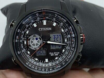 NEW Citizen Eco-Drive Men's Promaster Air Watch JZ1065-13E ANALOG/DIGITAL H3