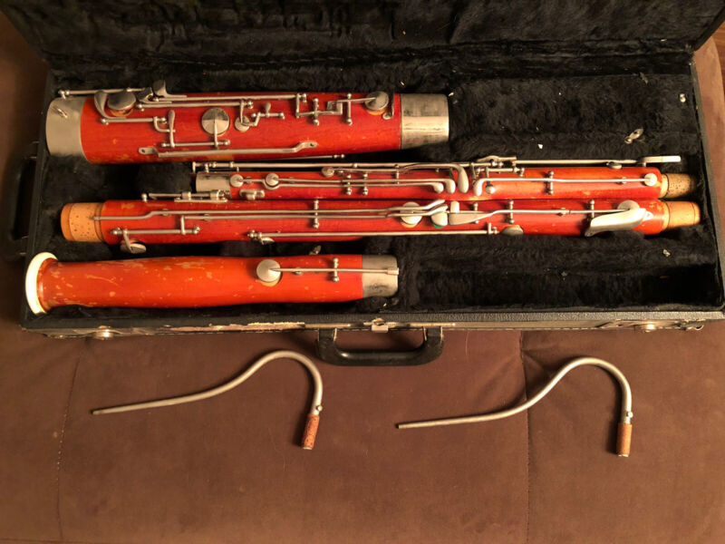 Selmer Signet Wood Bassoon Model 132 with High D and 2 Bocals Included