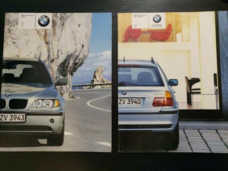 2003 and 2004 BMW 3 Series Sales Brochure