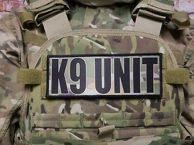 """3x8/"""" SHERIFF DETECTIVE Multicam Hook Back Placard Patch for Plate Carrier 8x3"""