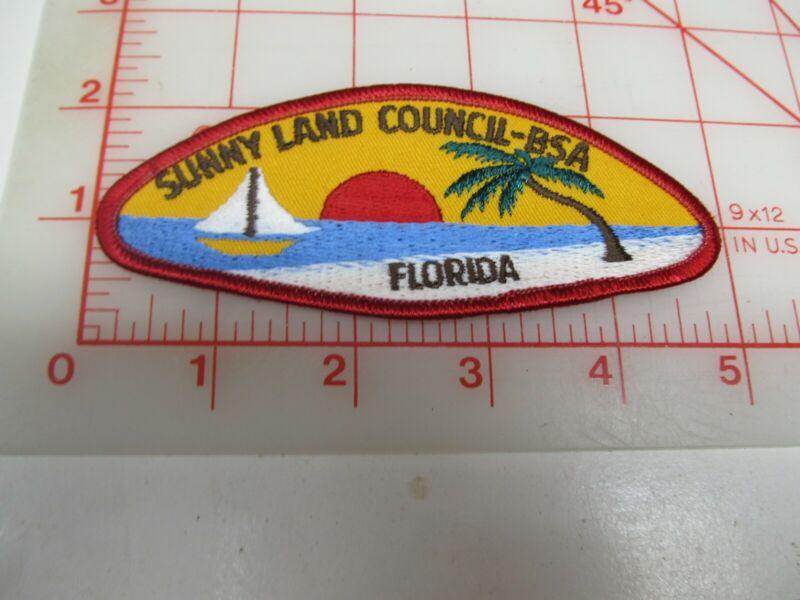 Sunny Land Council CSP collectible PB patch (o34)