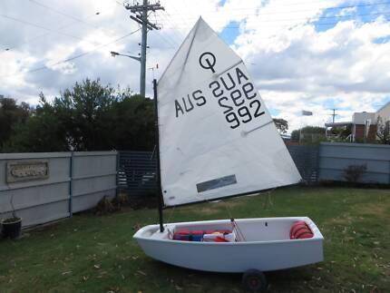Racing opti - AUS 992