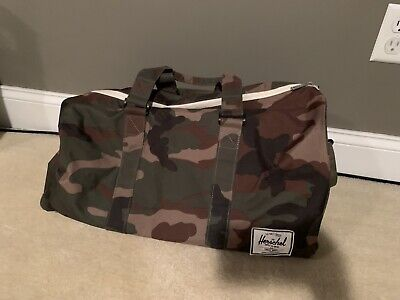 HERSCHEL SUPPLY CO. Novel Duffel Bag - Camouflage - Pre Owned