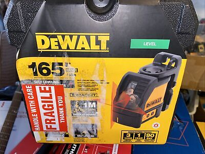 New Dewalt Dw088k Red Cross Line Laser Self Leveling 165 Horizontal Vertical