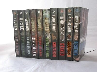 Iron Druid Chronicles #1-9 & Besieged by Kevin Hearne (10-Book Series Set MM PB)