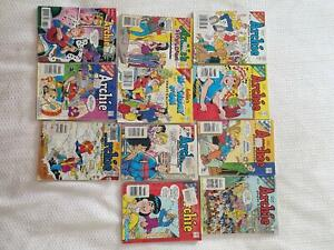 11 ARCHIE COMIC  BOOKS  DIGEST MAGAZINES WITH JUGHEAD BETTY VERONICA Panorama Mitcham Area Preview