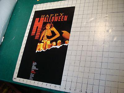 Original  poster: 1986 HAPPY HALLOWEEN world fantasy convention