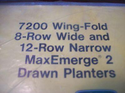 John Deere Operators Manual 7200 Wingfold 8rw 12rn Maxemerge 2 Drawn Planters