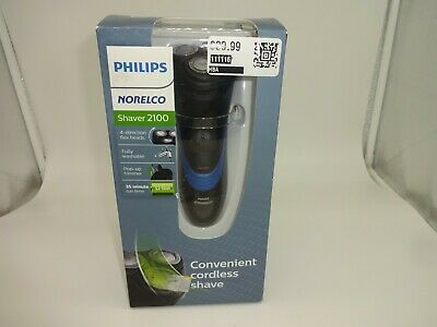 Philips Norelco Shaver 2100 Cordless Shaver  Flex Heads- S1560/81 New Sealed