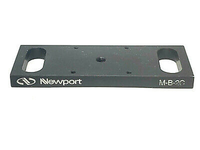 Newport M-b-2c Adaptor Plate 25x25 Mm Stage To Optical Table Or 65x65 Mm Stage