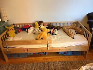 Ikea bed for children without mattress