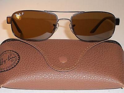 Ray Ban Rb3273 57 17mm Glatt B15 Braun Polarisiert Fahrer Glas Sonnenbrille (Ray-ban Sonnenbrille Fahren)