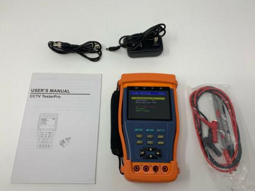 Evertech CCTV Multi-function Tester PRO M - Built-in Digital Multimeter