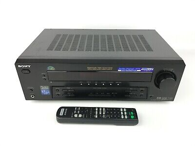 Sony STR DE595 5.1 Channel 500 Watt Receiver FM Tuner Dolby Pro Logic II