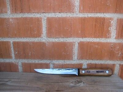 "Vintage 6"" Blade *** SHAPLEIGH *** Carbon Steel Chef's Boning Knife USA"