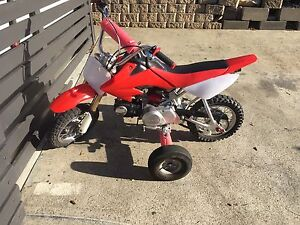 Honda Crf50 Warrane Clarence Area Preview