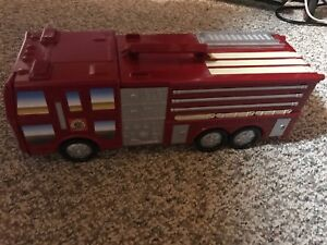 Micro machines fire truck plus extra vehicles