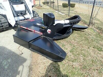 Vail 85 Brush Mower Attachment For Skid Steer Loaders Std Flow Quick Attach