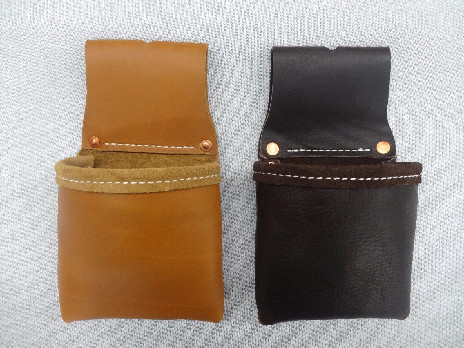 Custom Single Bag for Occidental Tool Belt-Single Leather To