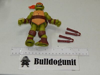 Power Sound FX Michelangelo w/ Nunchucks Teenage Mutant Ninja Turtles 2012