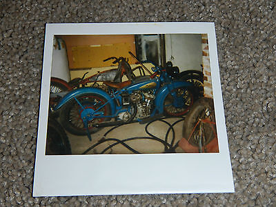 OLD VINTAGE MOTORCYCLE PICTURE PHOTOGRAPH INDIAN BIKE #10