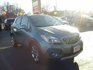 2014 BUICK ENCORE PREMIUM- POWER GLASS SUNROOF, REAR VIEW CAMERA