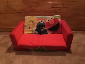 Sesame Street pull out couch