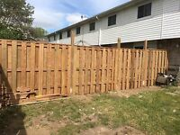 Fencing: I do all types of fencing (residential or commercial)