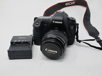Canon EOS 6D 20.2MP Digital SLR Camera w/ Canon 85mm 1.8 USM Lens, Tested