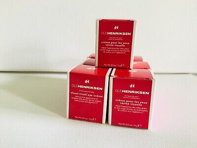 Ole Henriksen Visual Truth Eye Creme 0.5 oz / 15 g NIB Sealed Full Size