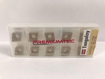 Tungaloy Ccmt32.51-cm Ccmt09t304-cm New Carbide Inserts Grade T5115 10pcs Ab
